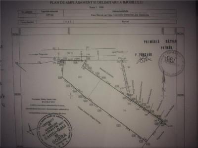 Vanzare teren intravilan la sosea in Valea Voievozilor